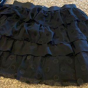 Used black skirt